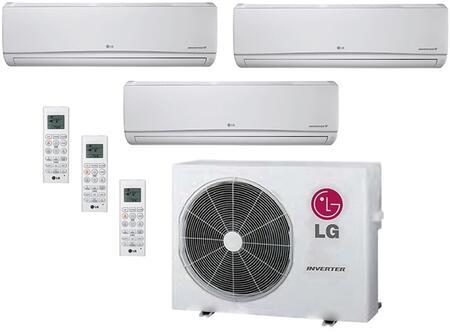LG 706607 Triple-Zone Mini Split Air Conditioners