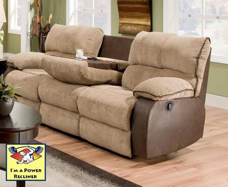Chelsea Home Furniture 1834031335PWR  Reclining Fabric Sofa