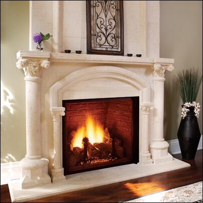 Majestic KHLDV400NV  Direct Vent Natural Gas Fireplace