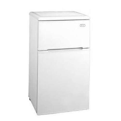 Avanti RA303WT1  Freestanding Counter Depth Compact Refrigerator with 3.1 cu. ft. Capacity, 1 Wire ShelfField Reversible Doors