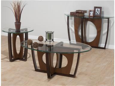 Jofran 5243 Contemporary Round End Table