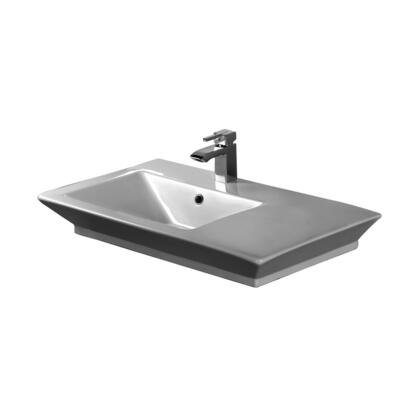 Barclay 4360WH White 1-Hole Sink