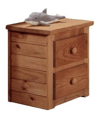 Chelsea Home Furniture 31002  Rectangular Wood Night Stand