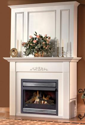Napoleon WRPFXA Flat Raised Panel Upper Wall Kit for Small Mantels: