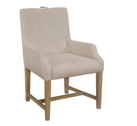 Broyhill 8054580 Hampton Series Contemporary Fabric Wood Frame Dining Room Chair