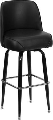 Flash Furniture FDF125GG Commercial Vinyl Upholstered Bar Stool