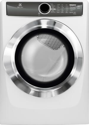 "Electrolux EFME617S 27"" Energy Star Front Load Electric Dryer with 8 cu. ft. Capacity, Perfect Steam, Allergen Cycle, 15 Minute Fast Dry and Reversible Door:"