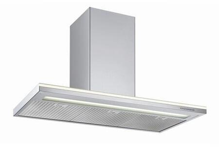 "Futuro Futuro WLxSTREAMWHT X"" Streamline Series  Range Hood with 940 CFM, 4-Speed Electronic Controls, Delayed Shut-Off, Filter Cleaning Reminder, and in Stainless Steel"