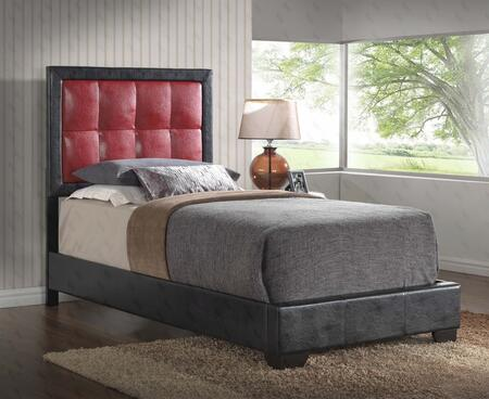 Glory Furniture G2589TBUP G2500 Series  Twin Size Panel Bed