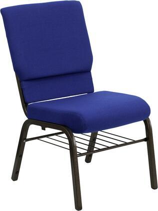 Flash Furniture XUCH60096NVYBASGG Hercules Series Armless Fabric Metal Frame Accent Chair