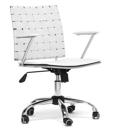 "Wholesale Interiors ALC1866CWHITEOC 23.625""  Office Chair"