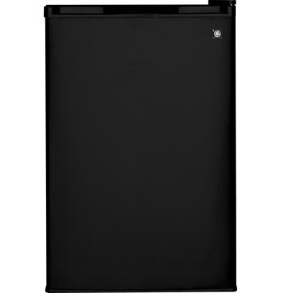 GE WMR04GADBB  Freestanding Counter Depth Compact Refrigerator with 4.4 cu. ft. Capacity, 3 Glass ShelvesField Reversible Doors