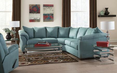 Milo Italia MI7909SSRSKY Tristian Living Room Sets