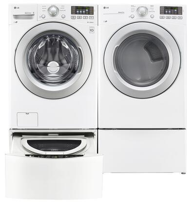 LG LG4PCFL27E2PEDWKIT4 Washer and Dryer Combos