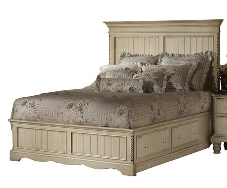 Hillsdale Furniture 1172STGBKR Wilshire Series  King Size Panel Bed