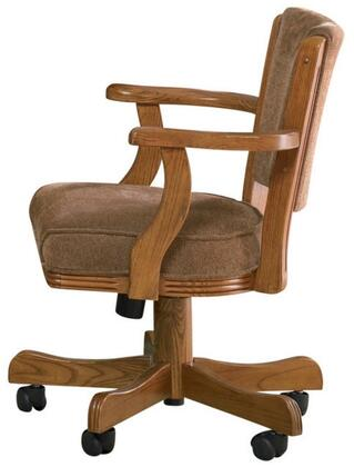 Coaster 100952 Mitchell Series Armless Wood Fabric Gaming Chair