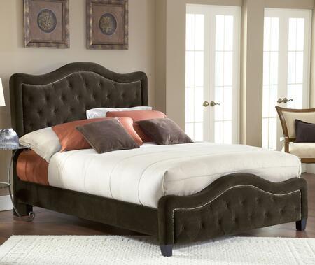 Hillsdale Furniture 1554BKRT Trieste Series  King Size Platform Bed