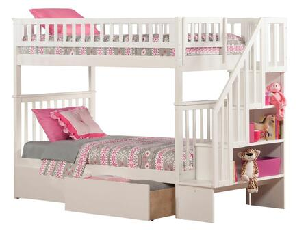 Atlantic Furniture AB56642  Twin Size Bunk Bed