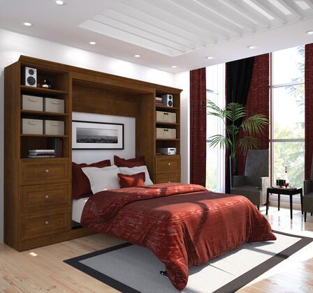 "Bestar Furniture 40893 Versatile by Bestar 109"" Full Wall bed kit"