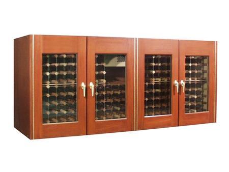 "Vinotemp VINO400CREDGBW 88"" Wine Cooler"