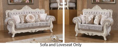 Meridian 637SL Marbella Living Room Sets