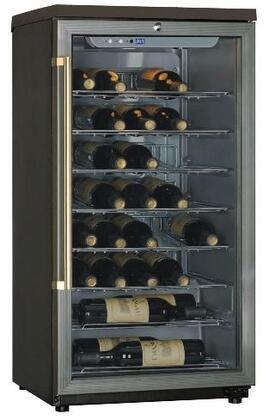 "Haier HW42WF10NG 19.94"" Freestanding Wine Cooler, in Grey"