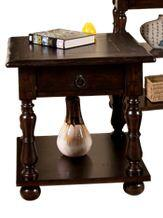 Sunny Designs 3214JVE Jefferson Series Traditional  End Table