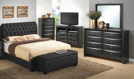 Glory Furniture G1500CKBUPDMB G1500 King Bedroom Sets