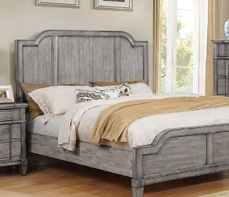 Furniture of America CM7855QBED Ganymede Series  Queen Size Panel Bed