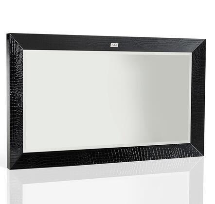 VIG Furniture VGUNAW416120 A & X Glam Series Rectangular Landscape Dresser Mirror