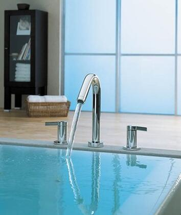 Kohler K-T954-4- Double Handle Roman Tub Trim with Metal Lever Handles from the Stillness Series: