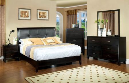Furniture of America CM7088Q5PCCHEST Enrico I Queen Bedroom