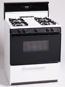 "Premier SMK340T 30""  Gas Freestanding Range with Sealed Burner Cooktop, 3.9 cu. ft. Primary Oven Capacity, Broiler in Bisque"
