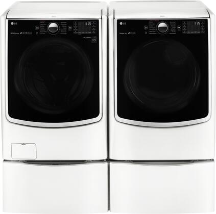 LG WM5000HWADLGX5001WPAIR2 Washer and Dryer Combos