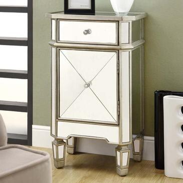 Monarch I3702 Freestanding Wood 1 Drawers Cabinet