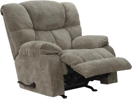 "Catnapper Popson Collection 47"" Chaise Rocker Recliner with Extra Wide Seating, Extra Tall Back, Supportive Lumbar Comfort and Heavy Weight Polyester Fabric Upholstery"