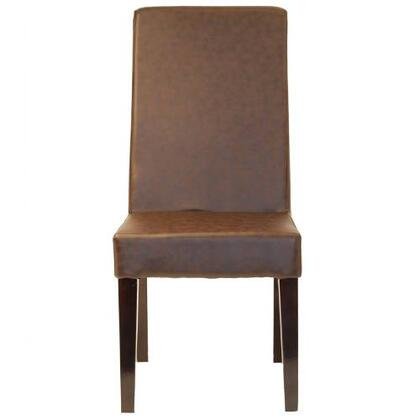 Modway EEI686 Caruso Series Modern Vinyl Wood Frame Dining Room Chair
