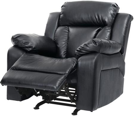 Glory Furniture G683RC G680 Series Faux Leather Metal Frame  Recliners