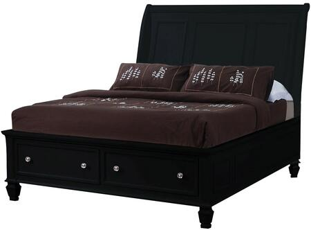 Coaster 201329KE Sandy Beach Series  King Size Sleigh Bed