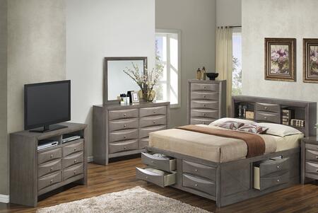 Glory Furniture G1505GTSB3CHDMTV2 G1505 Twin Bedroom Sets