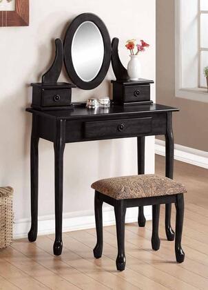 Acme Furniture 90151 Jonas Series Wood 3 Drawers Vanity
