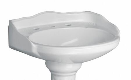 Barclay B3658WH White Bath Sink