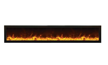 Amantii BI88DEEP Panorama Series Wall Mountable Electric Fireplace