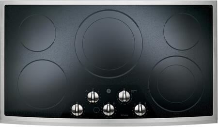 GE JP656SDSS CleanDesign Series Electric Cooktop