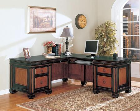 Coaster 800691 Traditional L-Shape Office Desk