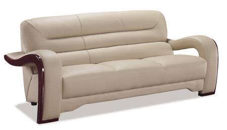 Global Furniture USA 992RVS  Ultra Bounded Leather Sofa