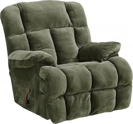 "Catnapper Cloud 12 Collection 44"" Recliner with Lay Flat Reclining Hardware, Plush Padded Arms, Large Comfort Tufts and Micro-Denier Fabric Upholstery"