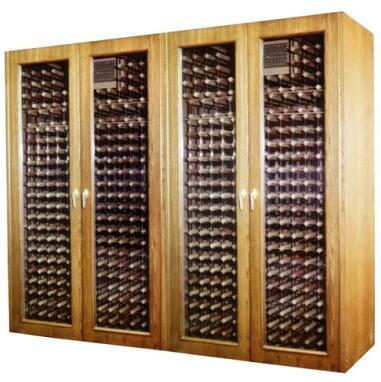 """Vinotemp VINO1400GCM 102"""" Wine Cooler"""