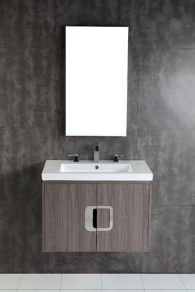 Bellaterra Home 500821 Vanity and Mirror Set