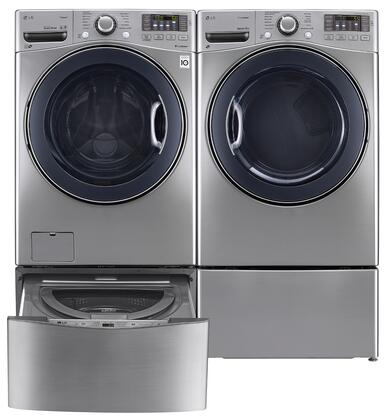 LG LG4PCFL27E2PEDSSKIT6 Washer and Dryer Combos